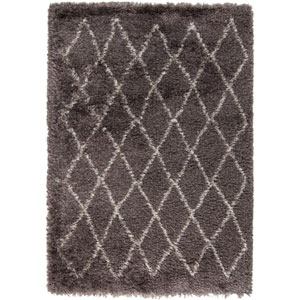 Rhapsody Charcoal Gray Rectangular: 5 Ft. x 8 Ft. Rug
