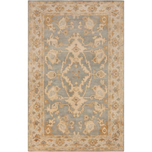 Relic Moss and Beige Rectangular: 2 Ft x 3 Ft Rug