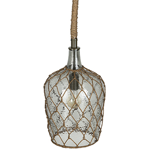 Rousseau Light Gray One-Light Mini Pendant