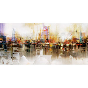 The Painted City: 60 x 30-Inch Print
