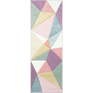 Santa Monica Multicolor Runner: 2 Ft. 7 In. x 7 Ft. 6 In. Rug