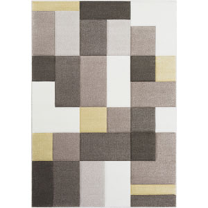 Santa Monica Neutral Rectangle: 5 Ft. 3 In. x 7 Ft. 6 In. Rug