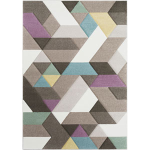 Santa Monica Brown Rectangle: 5 Ft. 3 In. x 7 Ft. 6 In. Rug