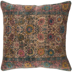 Shadi Neutral and Pink 30-Inch Pillow Cover