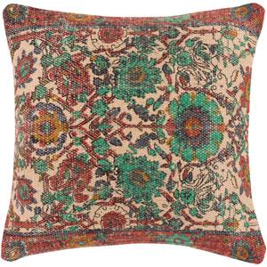 Shadi Multicolor 22 x 22 In. Throw Pillow