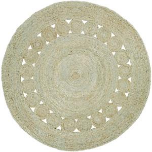 Sundaze Mint Round: 3 Ft. Rug