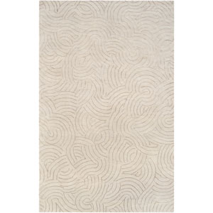 Shibui Mint and Tan Rectangular: 2 Ft. by 3 Ft. Rug