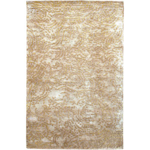 Shibui Tan and Gold Rectangular: 2 Ft. by 3 Ft. Rug
