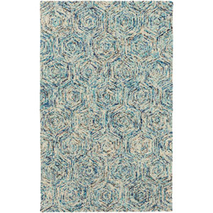 Shiloh Blue Rectangular: 2 Ft. x 3 Ft. Area Rug