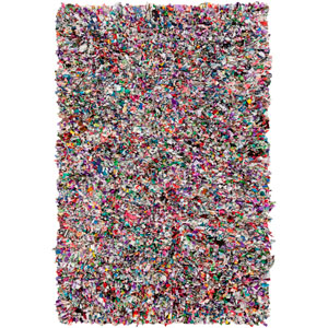 Shirt Multicolor Rectangular: 2 Ft x 3 Ft Rug