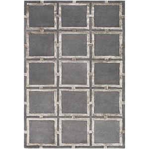 Skyline Charcoal Rectangular: 5 Ft. x 7 Ft. 6 In. Rug