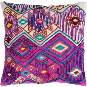 Splendid Multicolor 22 x 22 In. Throw Pillow