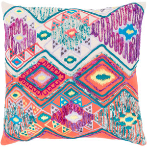Splendid Multicolor 22 x 22 In. Throw Pillow Cover