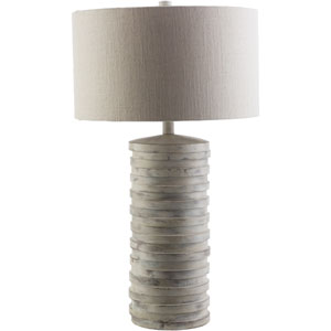 Sulak White Wash One-Light Table Lamp