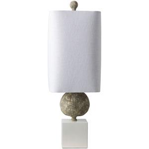 St. Martin Green Table Lamp