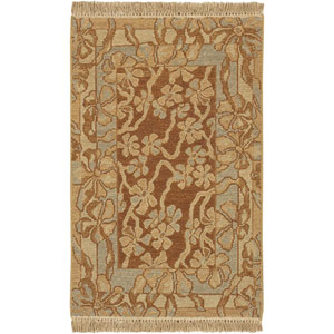 Sonoma Cognac and Powder Blue Rectangular: 10 Ft. by 14 Ft. Rug