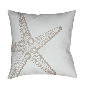 Nautical III Blue and Neutral 20 x 20-Inch Throw Pillow