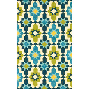 Storm Cobalt Rectangular: 5 Ft. x 7 Ft. 6 In. Rug