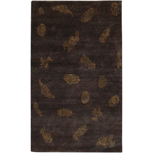 Sonora Black and Brown Rectangular: 2 Ft. by 3 Ft. Rug