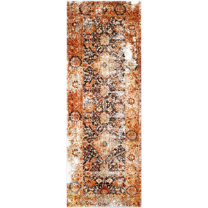 Serapi Orange Runner: 2 Ft. 7 In. x 7 Ft. 3 In. Rug