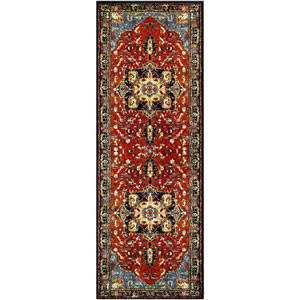Serapi Red Runner: 2 Ft. 7 In. x 7 Ft. 3 In. Rug