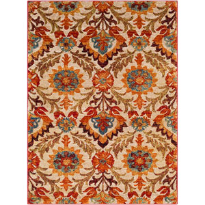Serapi Red Rectangle: 6 Ft. 7 In. x 9 Ft. 6 In. Rug