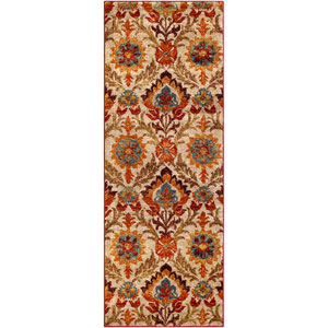 Serapi Red Rectangle: 9 Ft. 3 In. x 12 Ft. 6 In. Rug