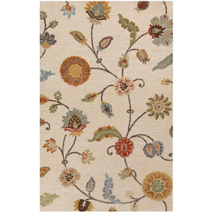 Sprout Taupe Rectangular: 2 Ft x 3 Ft Rug