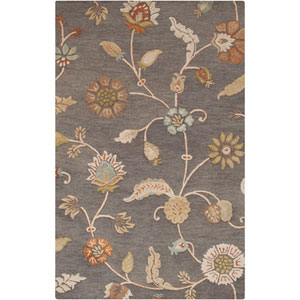 Sprout Slate Rectangular: 2 Ft x 3 Ft Rug