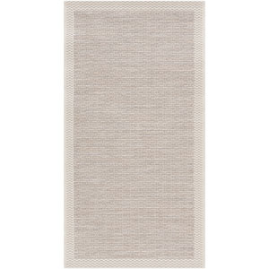 Santa Cruz Neutral Rectangular: 2 Ft.x 3 Ft. 7-Inch Rug