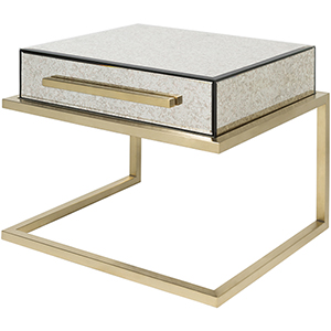 Saavedra Gold Accent Table
