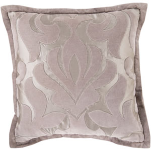 Sweet Dreams Gray and Neutral 20-Inch Pillow Cover