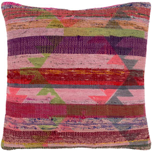 Thames Multicolor 20 x 20 In. Throw Pillow Cover