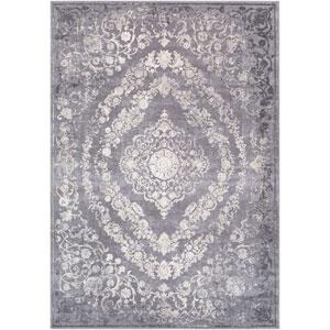Tibetan Gray Rectangle: 9 Ft. 3 In. x 12 Ft. 3 In. Rug