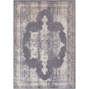 Tibetan Gray Rectangle: 2 Ft. x 3 Ft. Rug