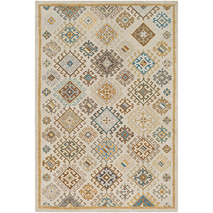 Tabriz Khaki Rectangular: 8 Ft. x 10 Ft. Rug