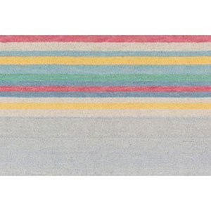 Technicolor Multicolor Rectangular: 2 Ft. x 3 Ft Rug