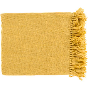 Thelma Yellow Throw