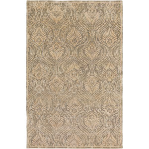 Thompson Beige and Olive Rectangular: 2 Ft x 3 Ft Rug