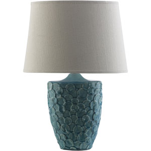 Thistlewood Teal One-Light Table Lamp