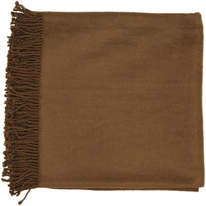 Tian Tian Brown 50 x 67 Throw