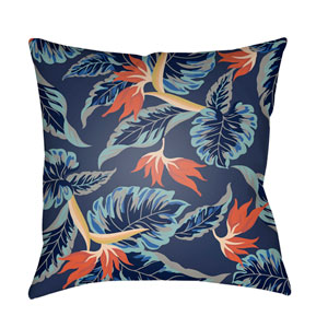 Tropical Multicolor 20 x 20-Inch Pillow