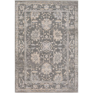 Tranquil Gray and Taupe Rectangular: 2 Ft. x 3 Ft. Rug