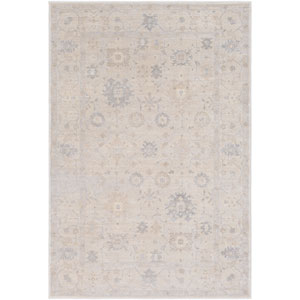 Tranquil Taupe and Gray Rectangular: 2 Ft. x 3 Ft. Rug