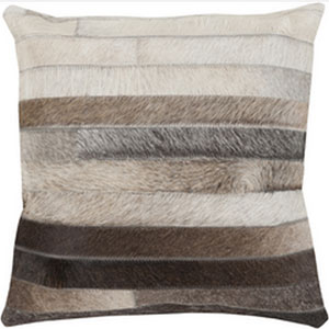 Hidden Trail Multicolor 20-Inch Pillow with Poly Fill
