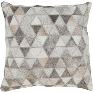 Hidden Trail Multicolor 22-Inch Pillow with Down Fill