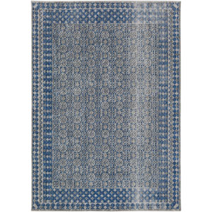 Tessera Gray and Blue Rectangular: 2 Ft. x 3 Ft. Rug
