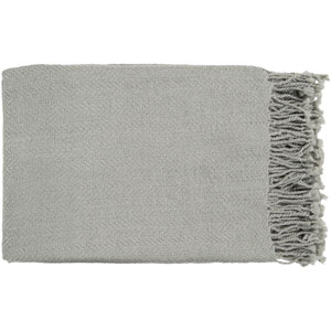 Turner Light Gray Throw