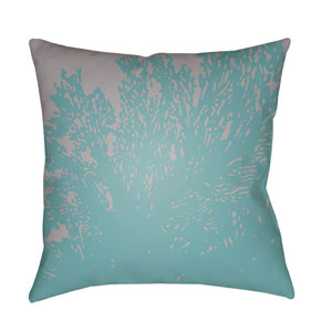 Textures Sky Blue and Lavender 22 x 22-Inch Pillow