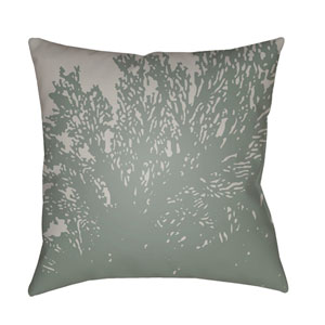 Textures Lavender and Teal 18 x 18-Inch Pillow